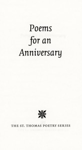 Title page, Anniv. poems scan