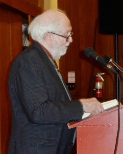 William Blissett at Johnston evening