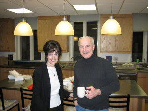 Margo Swiss and David McCarthy