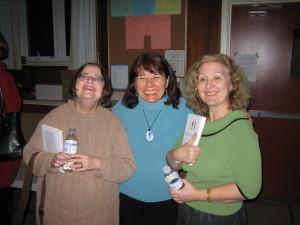 Nina Kilgour, Sandi Mills, and Geri Dasgupta