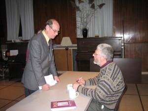 Hugh Anson-Cartwright with John Terpstra