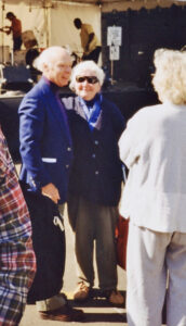 Richard Outram and Barbara Howard
